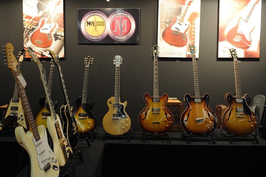 Musikmesse Vintage Guitars evento fiera francoforte gibson strumenti musicali