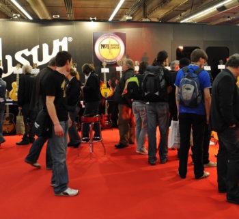 Musikmesse gibson Vintage Guitars evento fiera francoforte strumenti musicali