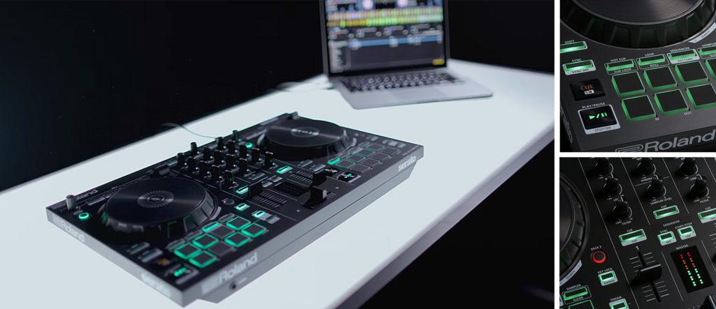Roland DJ-202 mixpack bundle hardware software beatport dj live producer strumenti musicali