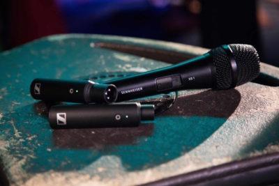 Sennheiser XS Wireless Digital live mic exhibo strumenti musicali