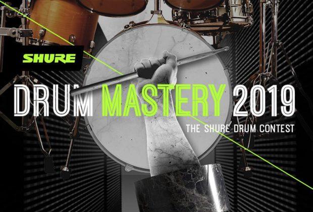 Shure Drum Mastery 2019 contest video batteria strumentimusicali
