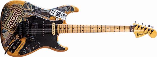 Steve Vai Sticker Strat strumenti musicali