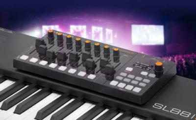 Studiologic SL Mixface controller midi usb tastiera keyboard eko music group strumenti musicali