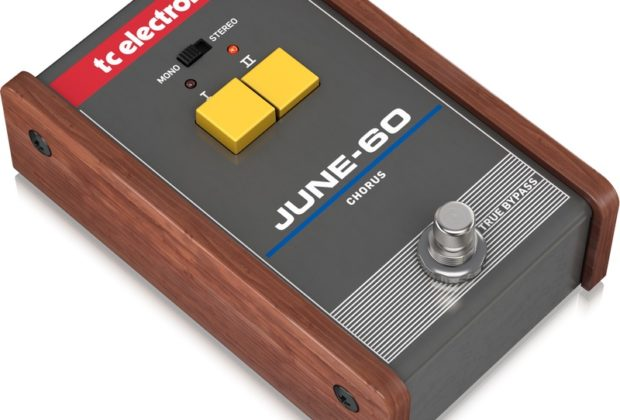 TC Electronic Juno-60 chitarra fx stompbox stomp pedalino chorus strumenti musicali
