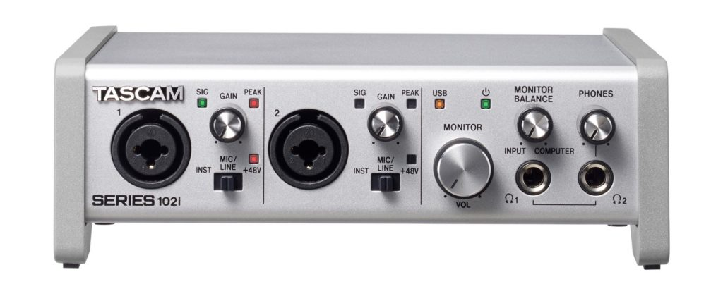 Tascam Series interfacce audio 102i rec home studio strumenti musicali