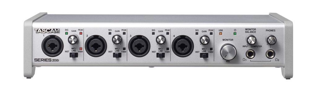 Tascam Series interfacce audio 208i rec home studio strumenti musicali