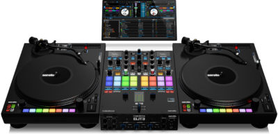 reloop elite mixer dvs serato dj perform producer live soundwave strumenti musicali