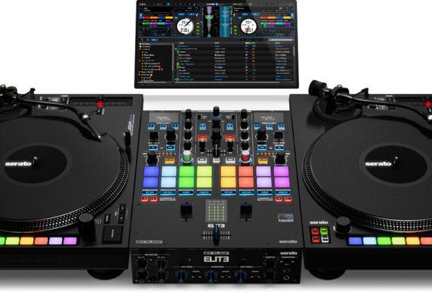 reloop elite mixer dvs serato dj perform producer live soundwave strumenti musicali