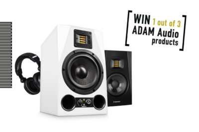 Adam Audio contest 2019 monitor studio home pro rec mix midi music a7x strumenti musicali