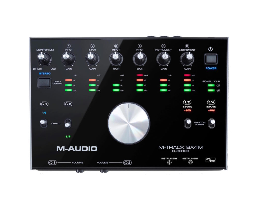 M-Audio M-Track 8X4M interfaccia audio rec studio home soundwave strumenti musicali