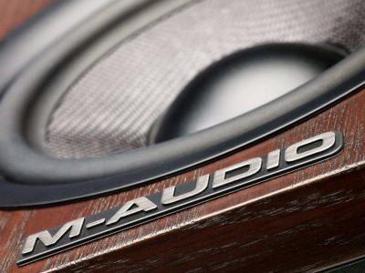 M-Audio rec studio home monitor soundwave strumenti musicali