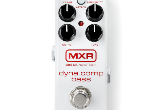 MXR Dyna Comp Bass pedali stomp eko music group strumenti musicali