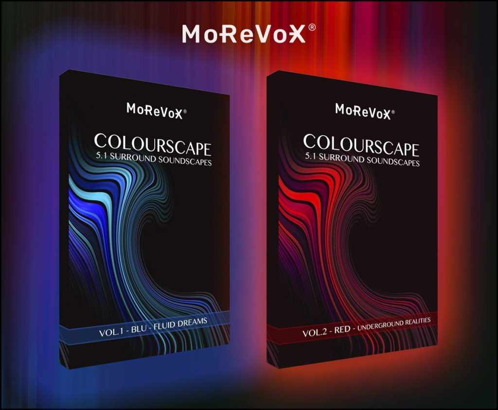 MoReVoX Colourscape soundscape library audio pro surround sabino cannone audiofader