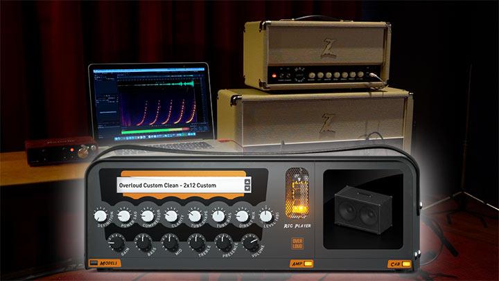 Overloud TH-U virtual plug-in audio software chitarra elettrica basso rig strumenti musicali