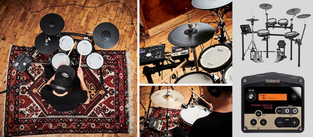 Roland TD25 tm-2 drumkit batteria drums elettronica sale omaggio strumenti musicali