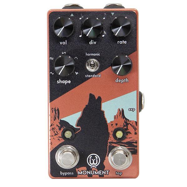 Walrus Audio Monument Harmonic Tap Tremolo V2 pedalino fx chitarra guitar face distribution strumenti musicali