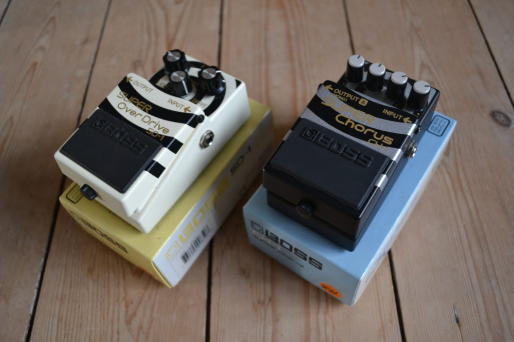 zakk wylde Boss SD-1 e CH1 strumenti musicali