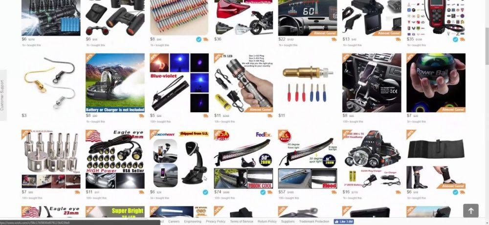 screenshot webstore strumenti musicali