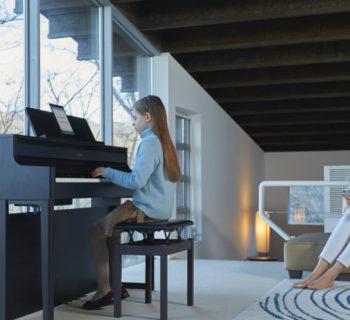 roland hp700 digital piano strumenti musicali