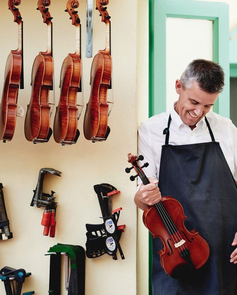 Edgar Russ archi strings liutaio musikmesse prolight+sound 2019 strumenti musicali
