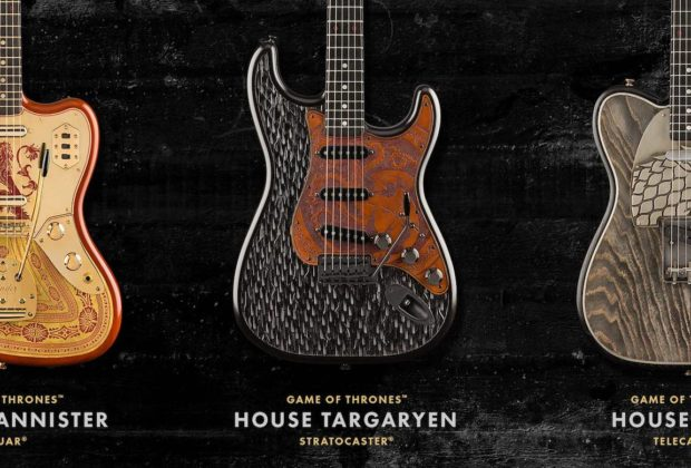 Fender Game of Thrones chitarra elettrica hbo strumenti musicali