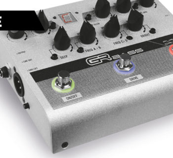 GR Bass Pure Drive pedale fx basso aramini strumenti musicali