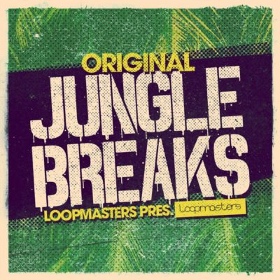 Loopmasters Original Jungle Breaks libreria sample loop dj live studio strumenti musicali