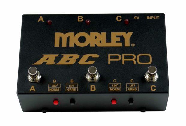 Morley ABC Pro switch pedali fx accessori soundwave strumenti musicali