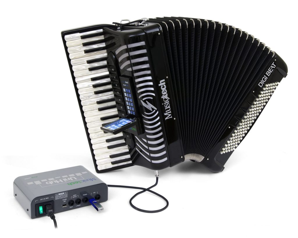 MIDI MusicTech Dual Link DigiBeat fisarmonica eventi fiera francoforte prolight+sound 2019 music life strumenti musicali