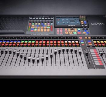 PreSonus Studiolive 64S mixer live hardware digital midi music strumenti musicali