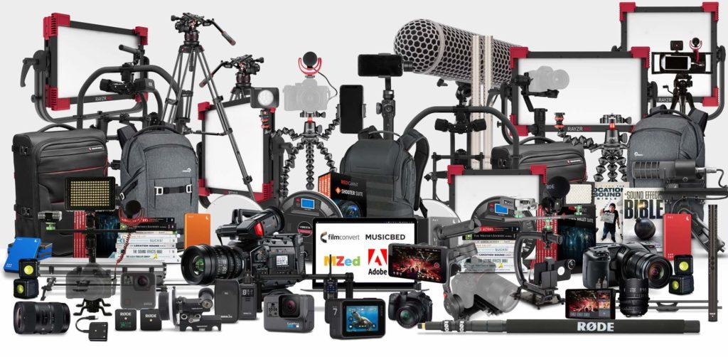 Røde MyRødeReel 2019 filmmaker audio pro video midi music strumenti musicali