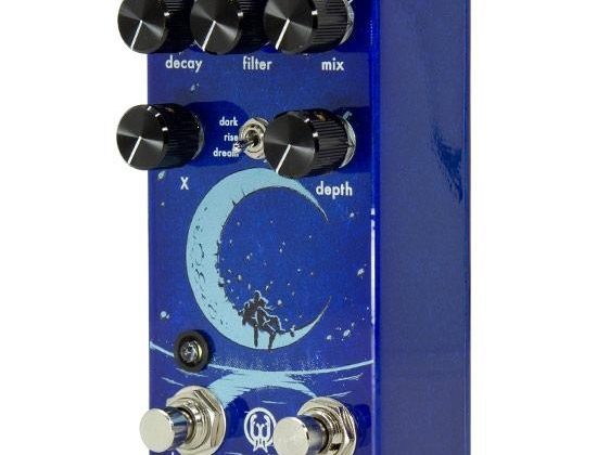 Walrus Audio Slö Multi Texture Reverb pedalino pedale fx chitarra face distribution strumenti musicali