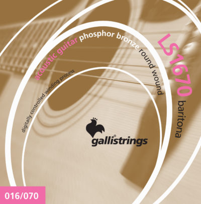 galli strings LS1670-Baritona strumenti musicali