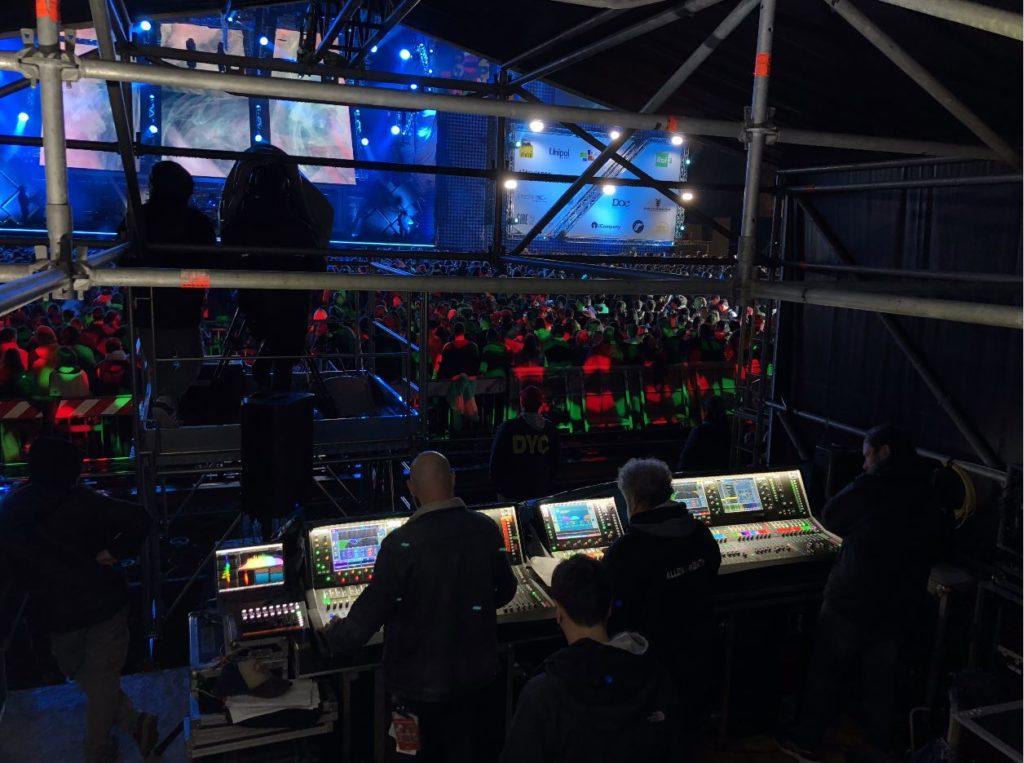 Allen&Heath PrimoMaggio concerto roma live exhibo dlive strumenti musicali