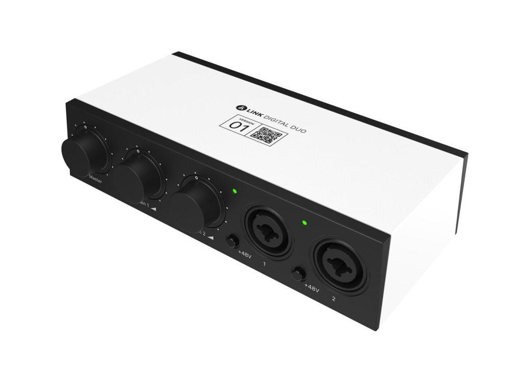 BabdLab Link Digital Duo interfaccia home studio strumenti musicali