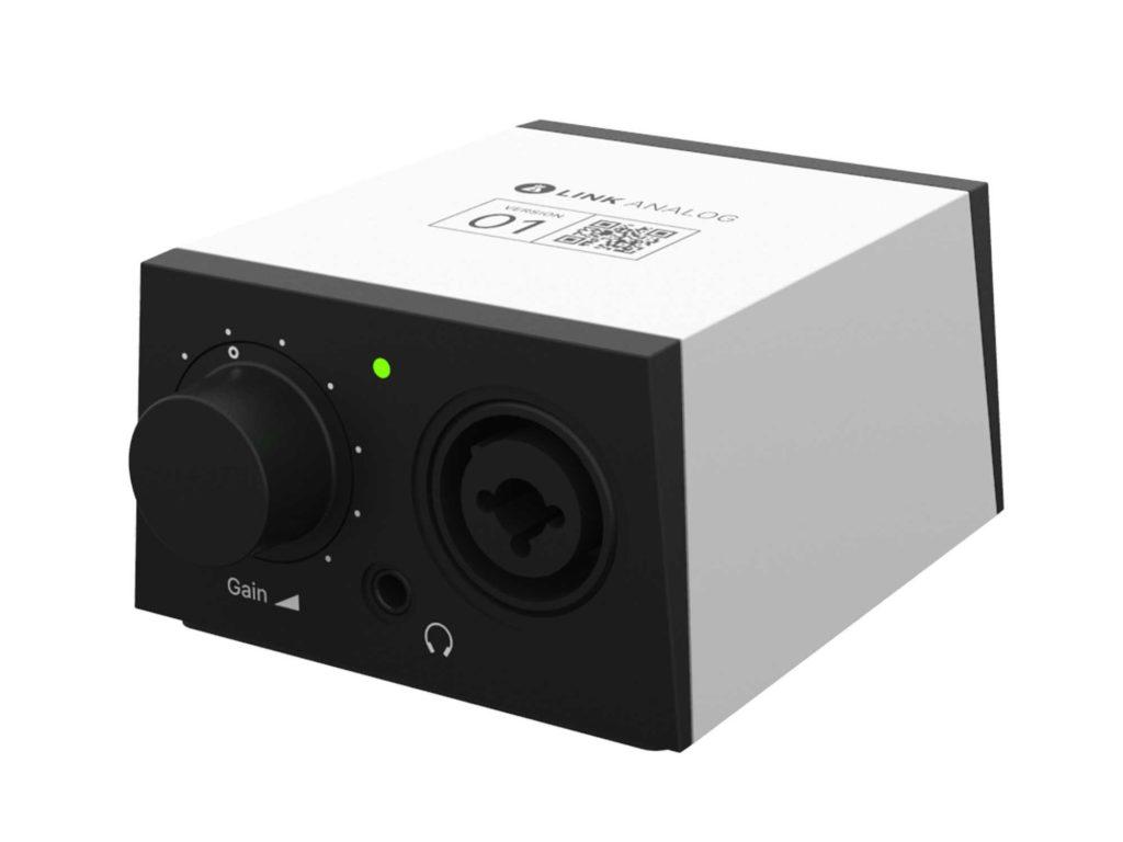 Link Analog Mini audio interfaccia bandlab home studio strumenti musicali