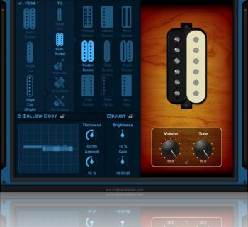 Blue Cat Audio Re-Guitar pickup plug-in chitarra software strumenti musicali