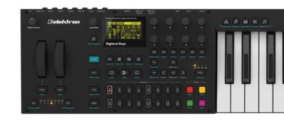 Elektron Digitone Keys digital synth sintetizzatore soundwave strumenti musicali