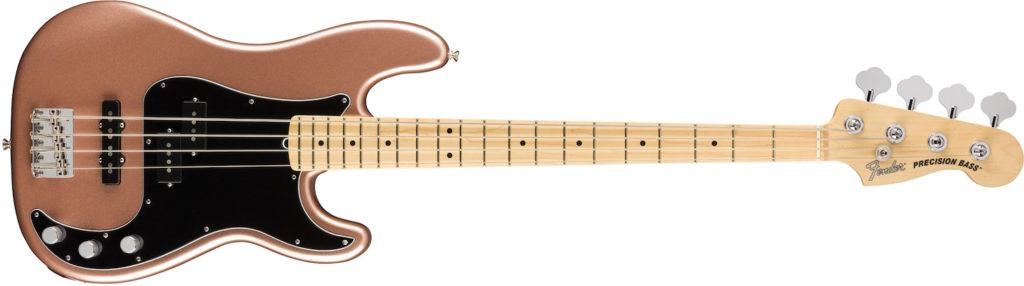 Fender American Performer Precision Bass Penny basso elettrico bass strumenti musicali