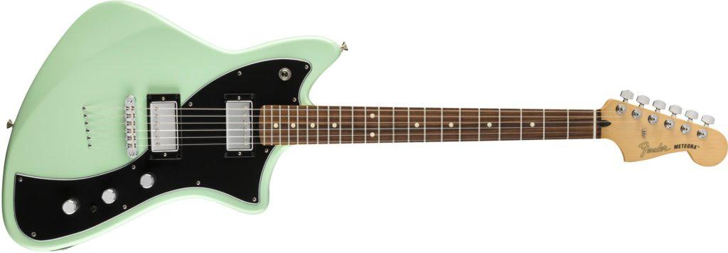 Fender Meteora HH Surf Green chitarra elettrica guitar electric strumenti musicali