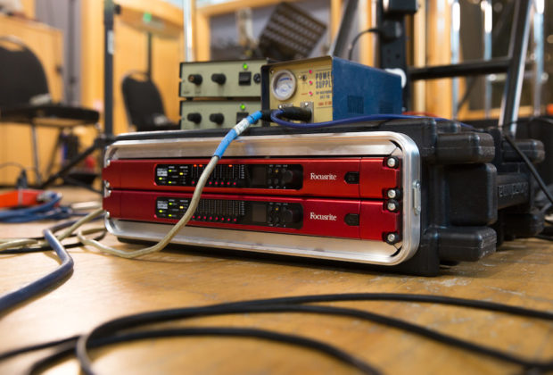 Focusrite Pro audio hardware over ip leading technologies audiofader