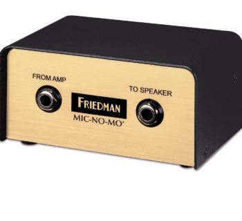 Friedman Mic No Mo cabinet simulator cab chitarra bass guitar strumenti musicali
