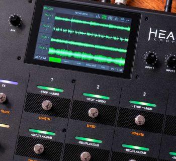 HeadRush Looperboard pedaliera looper fx chitarra elettrica soundwave strumenti musicali