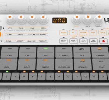 Ik Multimedia UNO Drum digital drumkit producer mogar strumenti musicali
