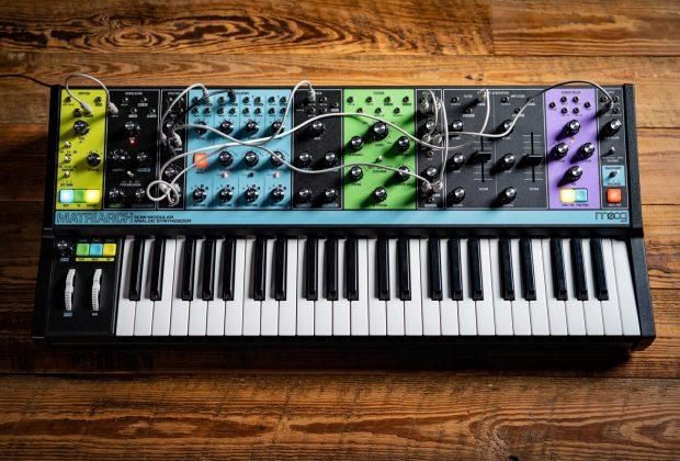 Moog Matriarch synth sintetizzatore analog parafonic midiware strumenti musicali