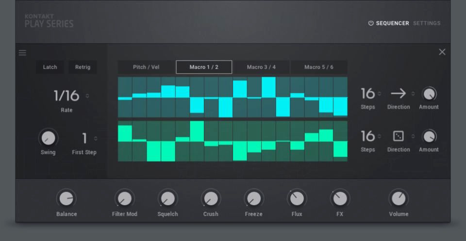 Native Instruments Modular Icons virtual instrument software synth midi music strumenti musicali