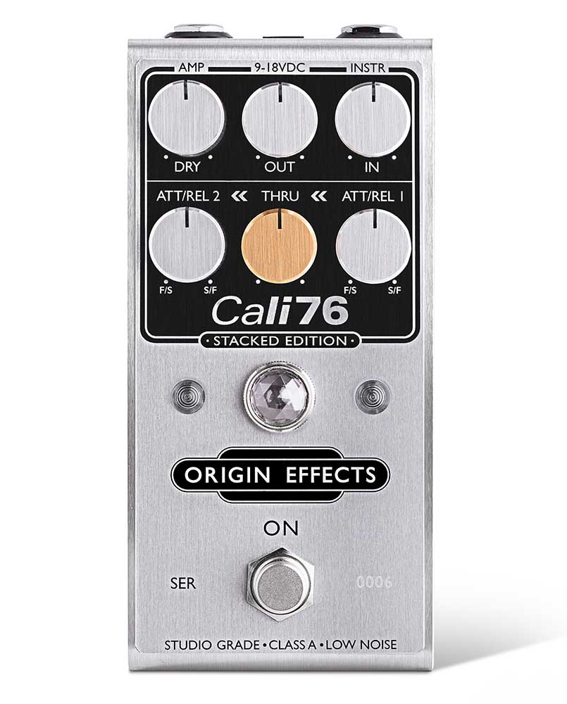 Origin Effects Cali76 Stacked Edition pedale pedalino fx comp chitarra strumenti musicali