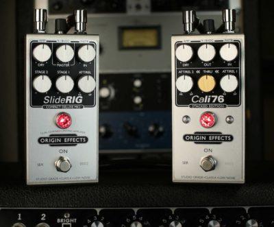 Origin Effects cali76 sliderig pedale pedalino fx comp chitarra strumenti musicali