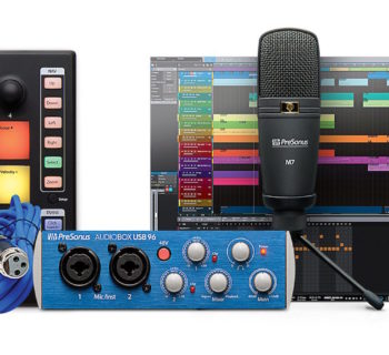 PreSonus Atom Producer Pack hardware mic controller interfaccia audio DAW software strumenti musicali