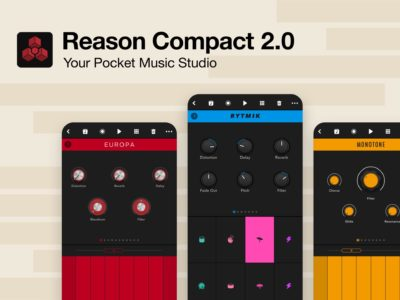 Propellerhead Reason Compact 2.0 app mobile iphone ipad music strumenti musicali